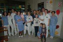 Božić na dječjem Odjelu Opće bolnice Virovitica